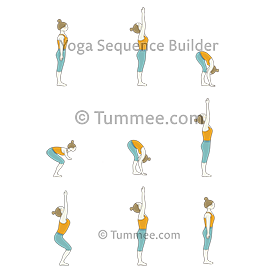 half sun salutation yoga ardha surya namaskar  yoga